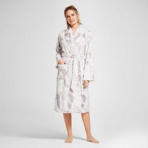 Other - Bathrobe Women Robe Grey White Size M/L Soft